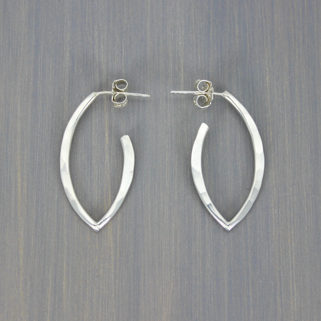 Leaf Hoops Small