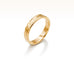 Oblique Hammered Band in 18K Rose Gold