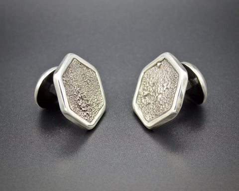 Moondust Hex Cuff Links