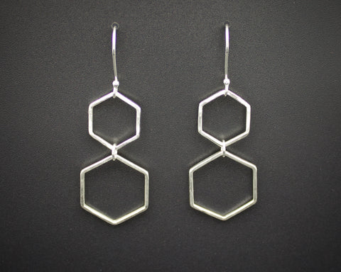 Double Honeycomb Earrings