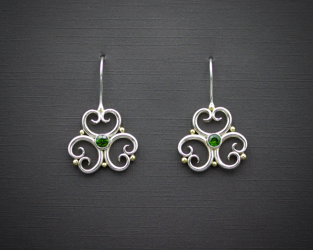 Verdant Trefoil Earrings