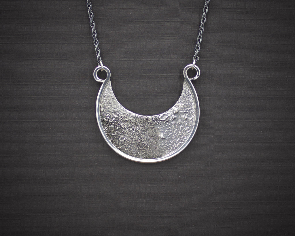 Moondust Crescent Necklace