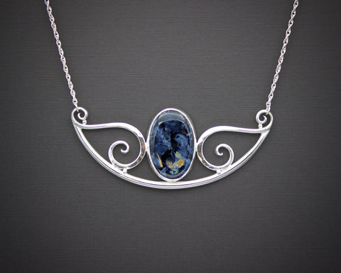 The Stormy Sea Forged Necklace