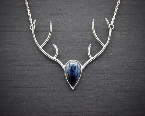Highland Stag with Pietersite
