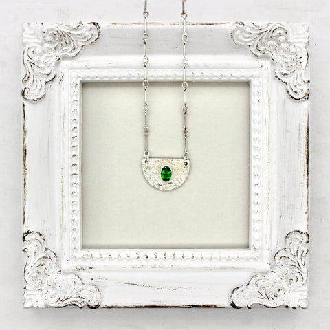 Green Mystique Demi Necklace