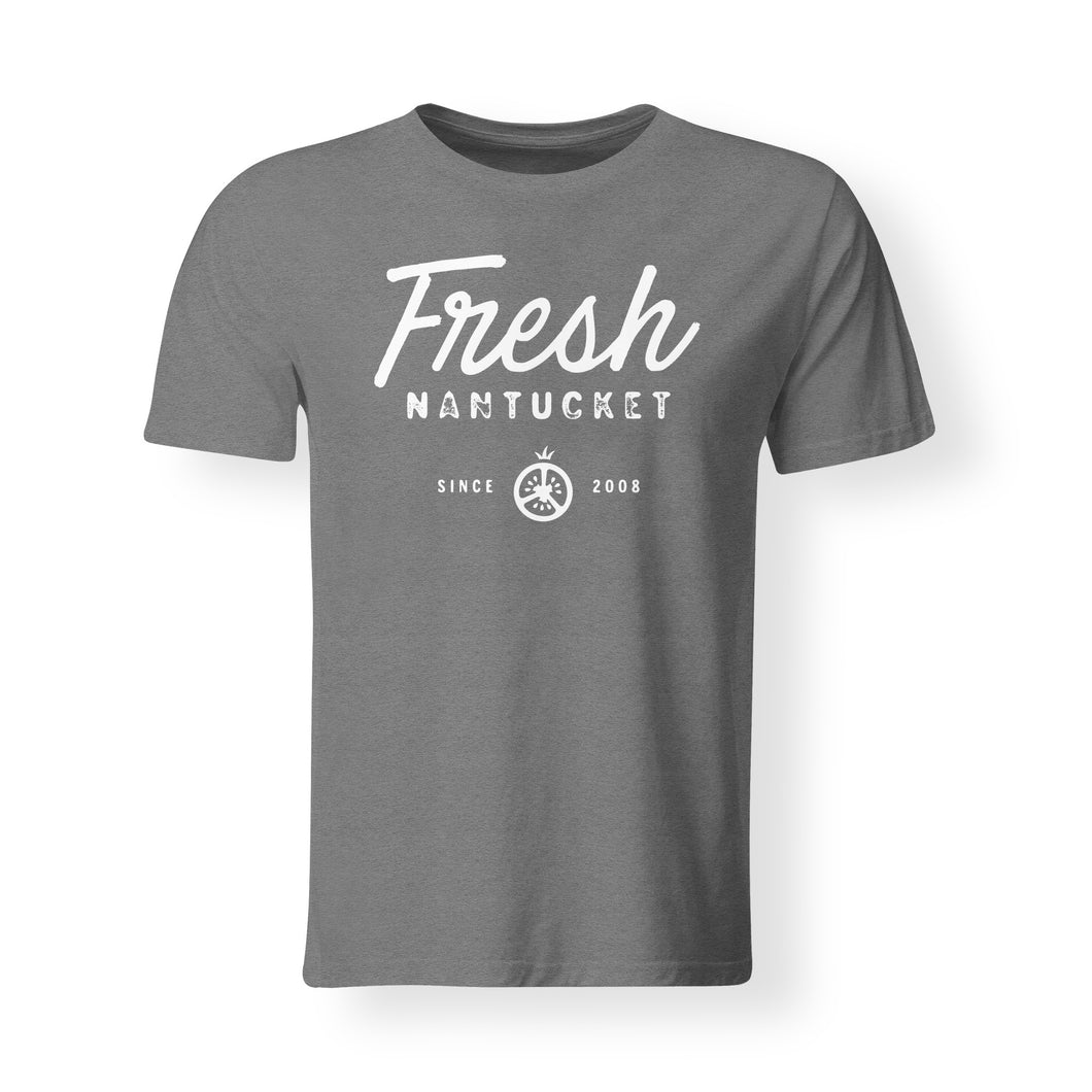 Men's Cursive Grey