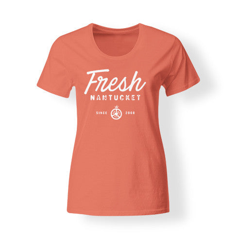 Women's Orange Fresh T