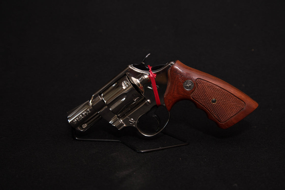 "Colt Lawman ""MKV"" Mark 5 in Nickel"