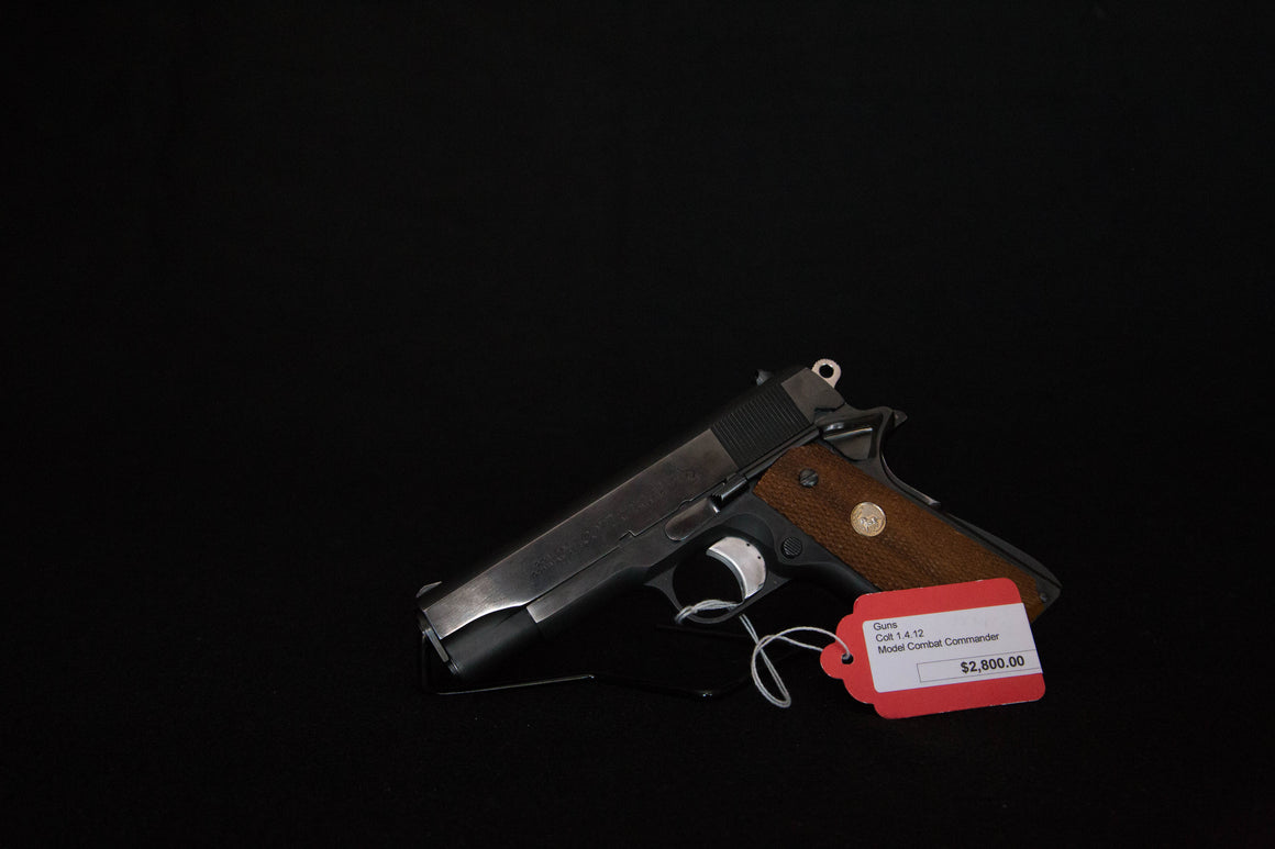 Colt Combat Commander 1911 (38 Super) *SOLD*