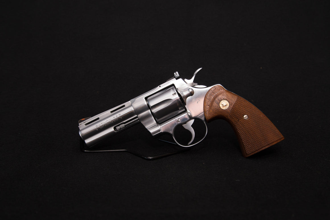 Colt Python- Colt Guard Finish