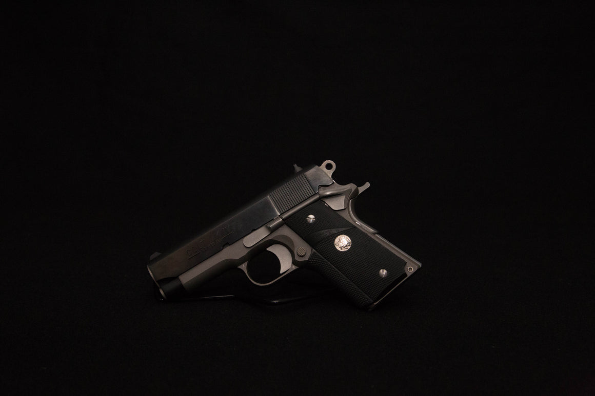 Colt Officer Elite- 45, Two Tone