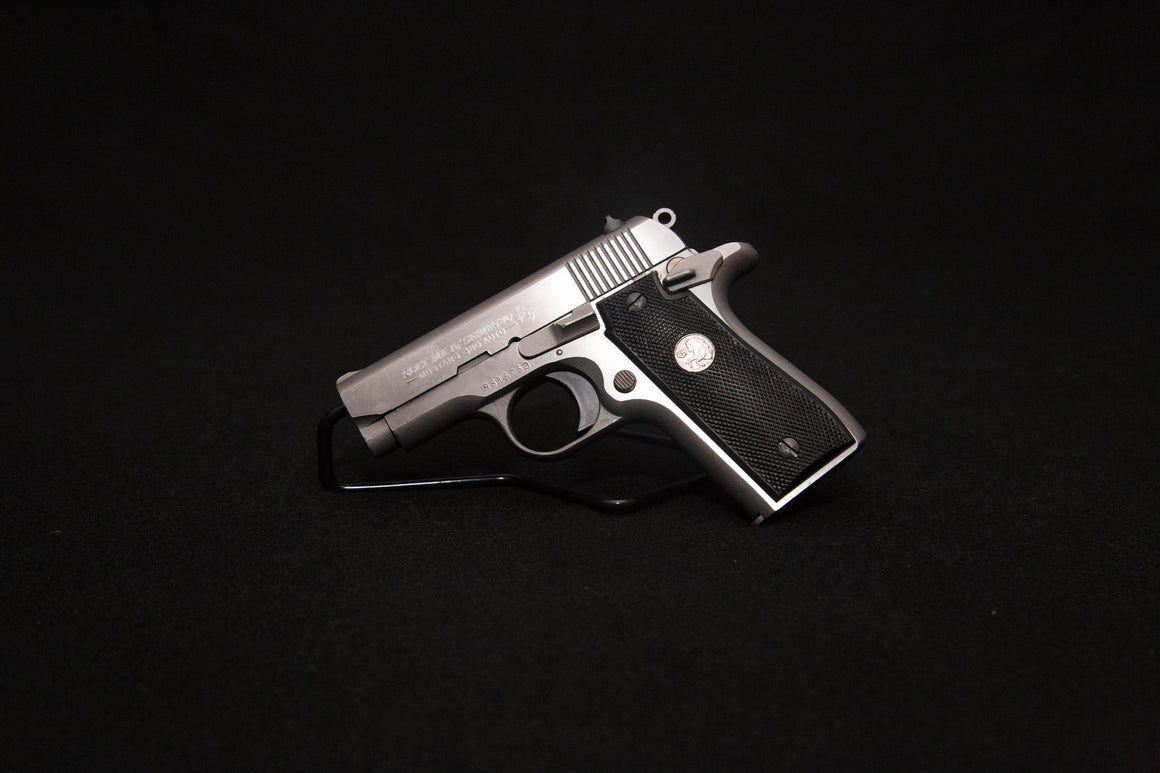 Colt Mustang Plus II- Stainless 380
