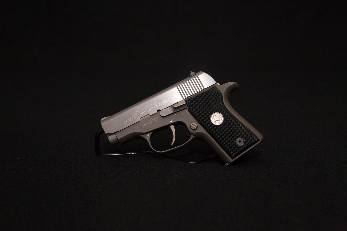 Colt Pony Pocket-lite~ Stainless 380