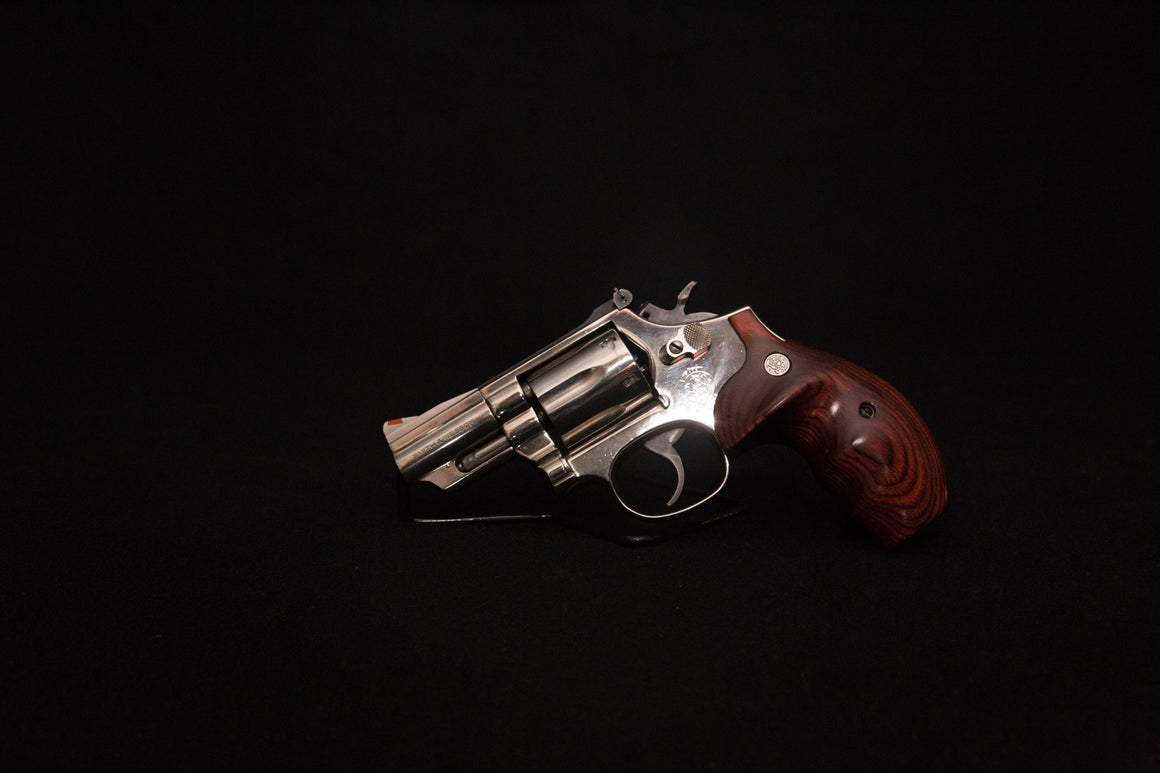 Smith & Wesson Model 19- Nickel 357