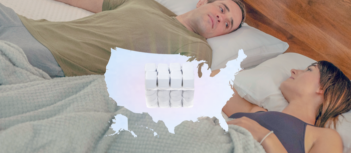 700 tiny mattresses Fighting the American Sex Drought!