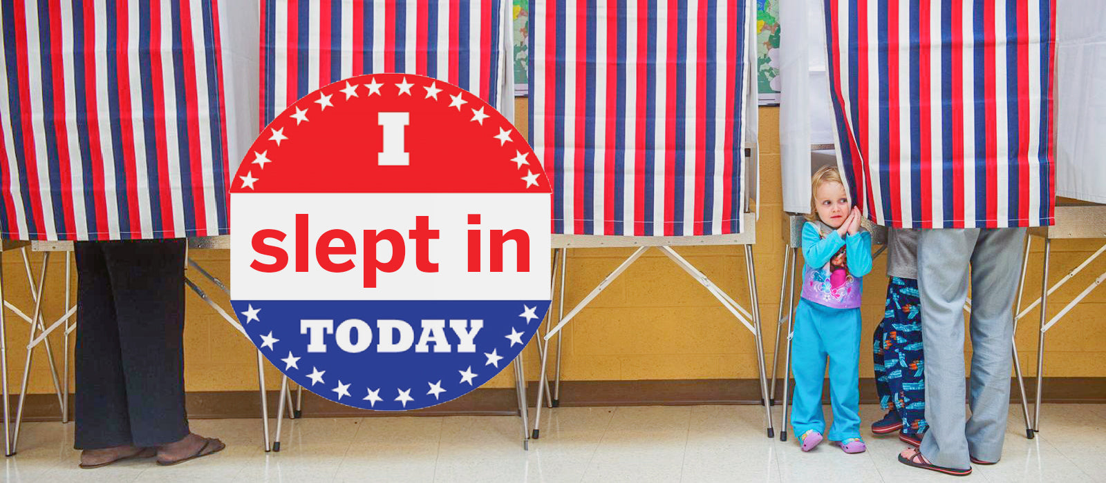 You Overslept on Election Day? Here's What You Need to Do!