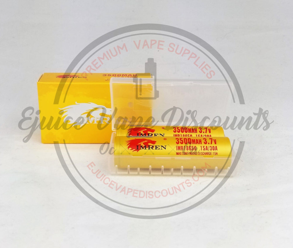 Load image into Gallery viewer, 3500mah Imren 15A/30A battery $10.99 - Ejuice Vape Discounts