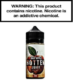 Rotten Juice Ejuice 0 Bad Apple by Rotten Juice 100ml