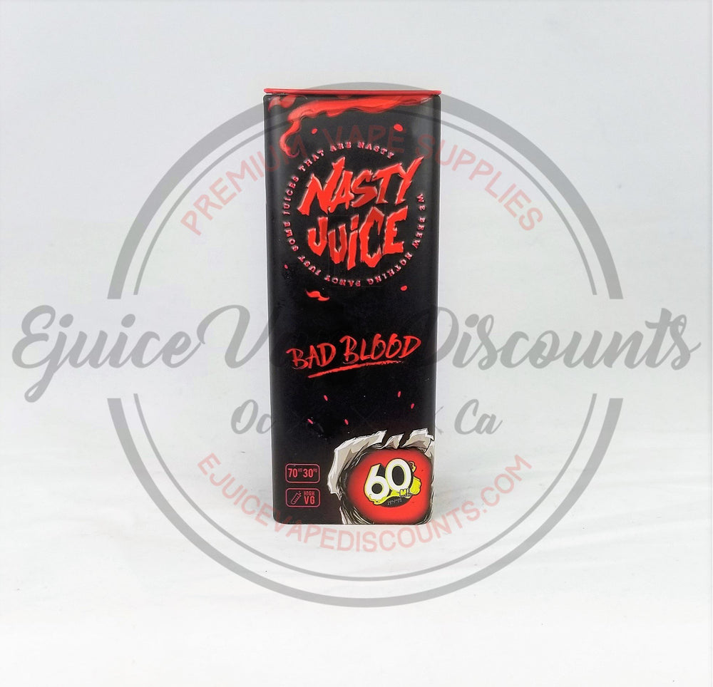 Bad Blood by Nasty Juice 60ml - Ejuice Vape Discounts