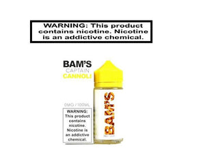 Load image into Gallery viewer, Bam Bam's Cannoli Ejuice Bam Bam's Captain Cannoli 100ml