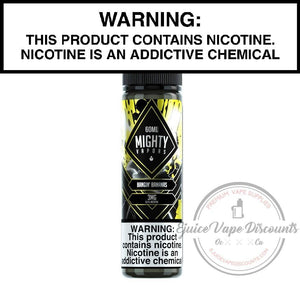 Mighty Vapors Ejuice 0 Bangin Bananas by Mighty Vapors 60ml