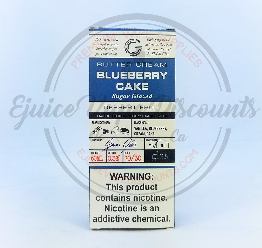 Blueberry Cake Glas Basix 60ml