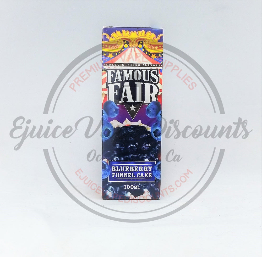 Blueberry Funnel Cake by Famous Fair 100ml