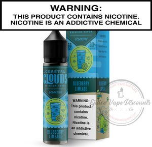 Coastal Clouds Ejuice 0 Blueberry Limeade by Coastal Clouds