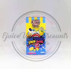 Candy Shop Blue-Berries Lemon Swirl 100ml - Ejuice Vape Discounts