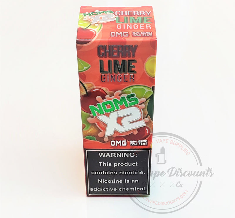Cherry Lime Ginger by Nomenon 120ml