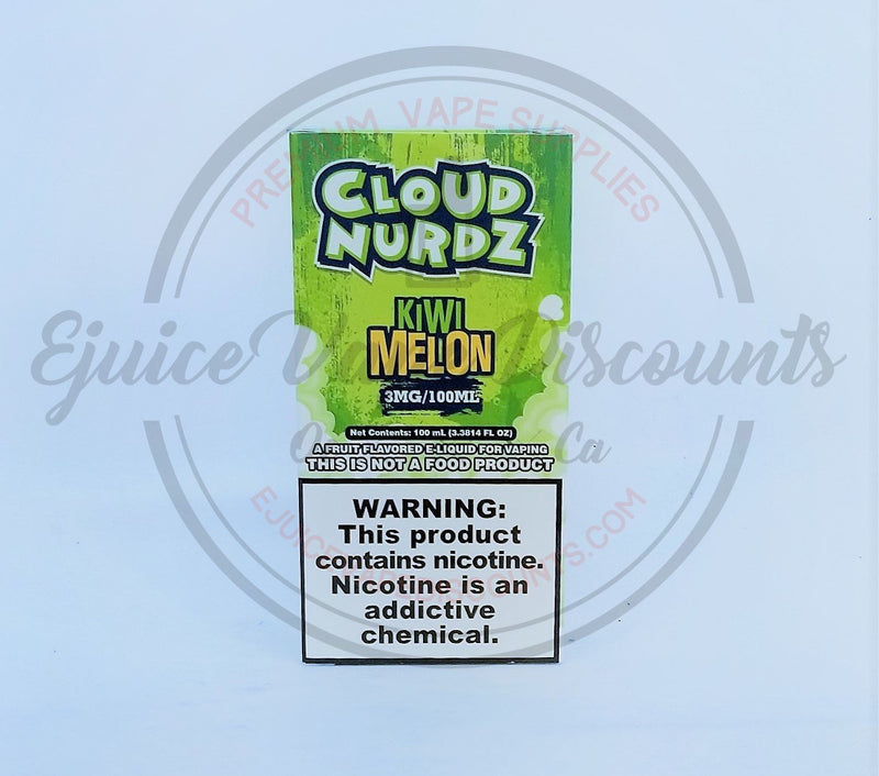 Cloud Nurdz Kiwi Melon 100ml - Ejuice Vape Discounts