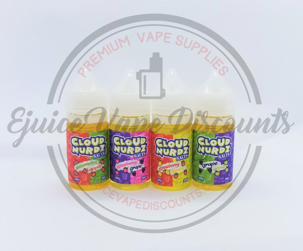 Cloud Nurdz SALT Watermelon Apple Salt $10.49 - Ejuice Vape Discounts