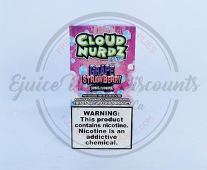 Cloud Nurdz Strawberry Grape ICED 100ml - Ejuice Vape Discounts