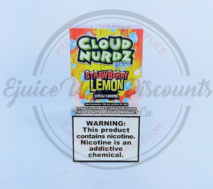 Load image into Gallery viewer, Cloud Nurdz Strawberry Lemon ICED 100ml - Ejuice Vape Discounts