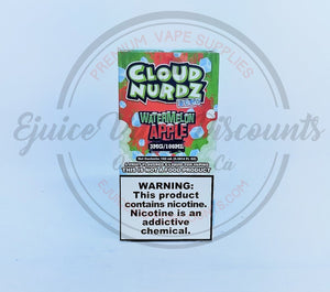 Load image into Gallery viewer, Cloud Nurdz Watermelon Apple ICED 100ml - Ejuice Vape Discounts