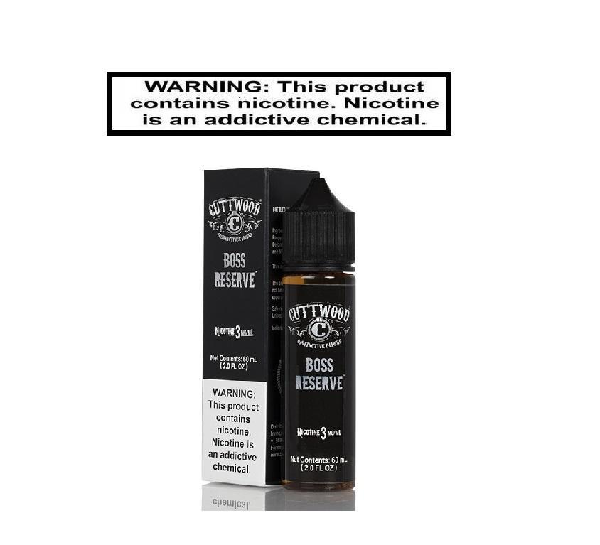 Load image into Gallery viewer, Cuttwood Ejuice Cuttwood Boss Reserve 60ml