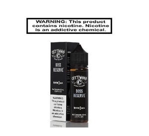Cuttwood Ejuice Cuttwood Boss Reserve 60ml