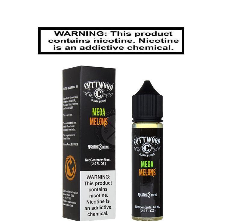 Cuttwood Ejuice Cuttwood Mega Melons 60ml