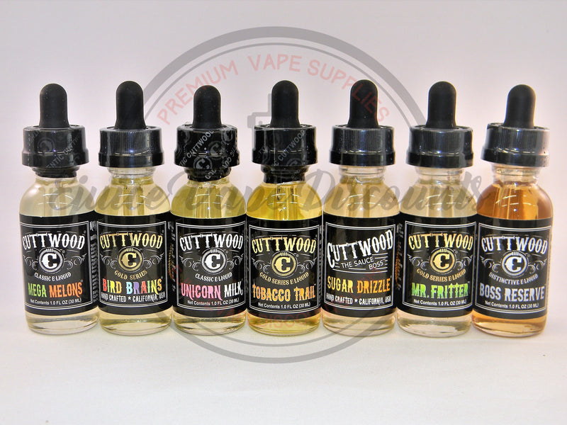 Cuttwood Mr. Fritter 60ml - Ejuice Vape Discounts