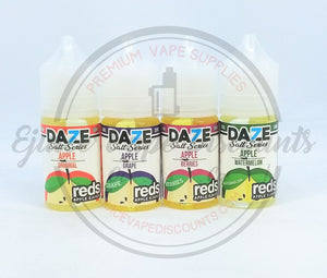 Daze Salt Series Apple Grape 30ml - Ejuice Vape Discounts