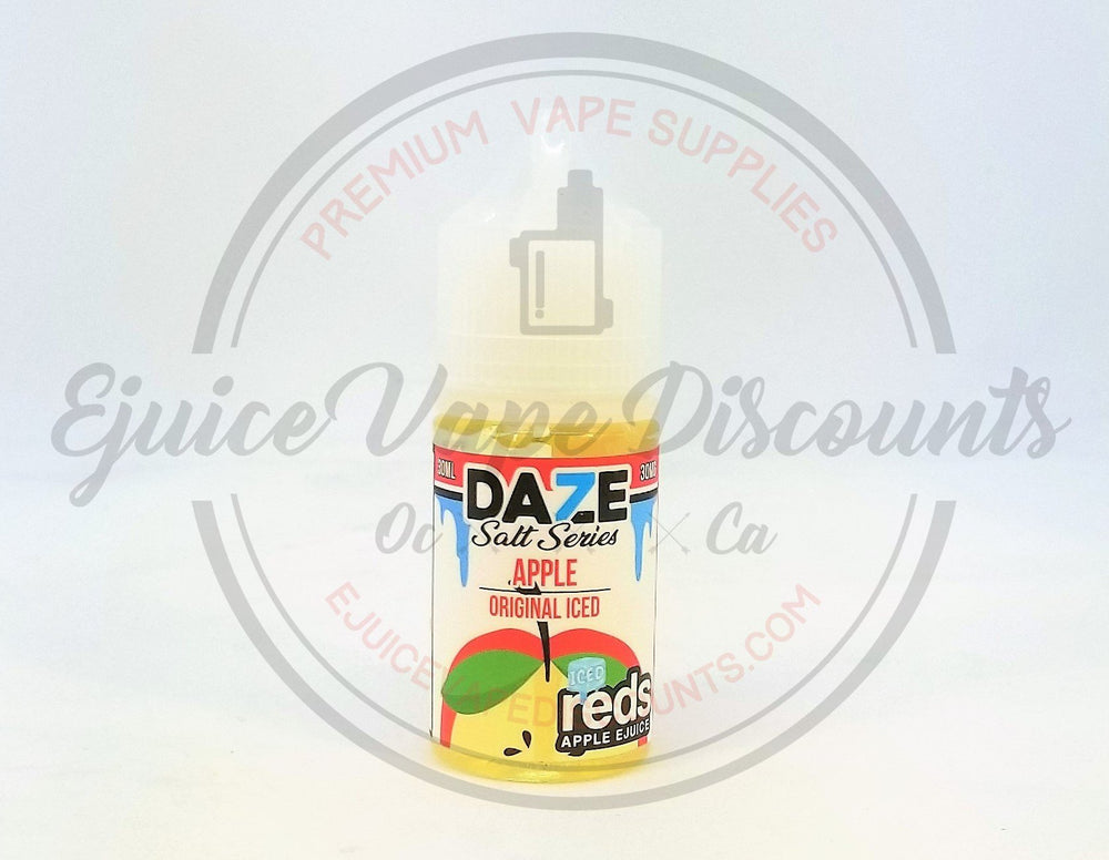 Load image into Gallery viewer, Daze Salt Series Apple Original ICED 30ml - Ejuice Vape Discounts