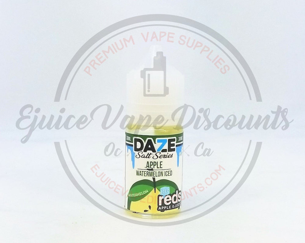 Load image into Gallery viewer, Daze Salt Series Apple Watermelon ICED 30ml - Ejuice Vape Discounts