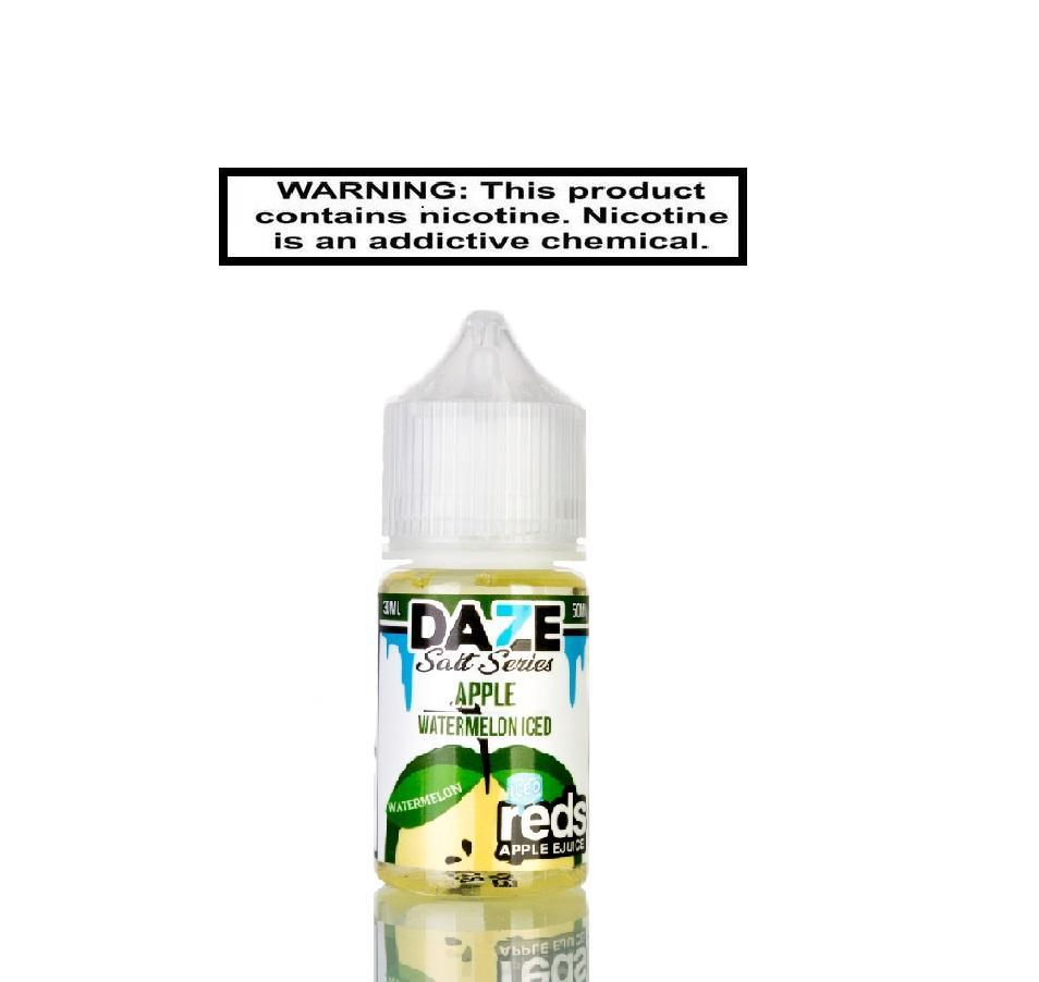 Daze Salt Series salts Daze Salt Series Apple Watermelon ICED 30ml