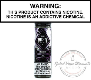 Mighty Vapors Ejuice 0 Dazzle Berry by Mighty Vapors 60ml
