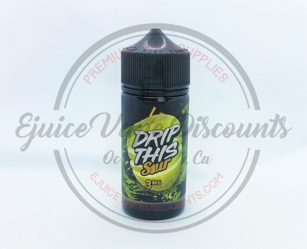 Drip This sour Apple 100ml - Ejuice Vape Discounts