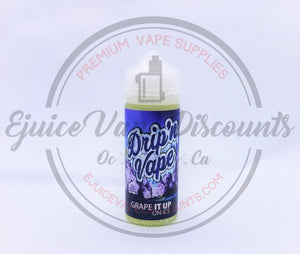 Drip'n Vape Grape it Up ON ICE 120ml - Ejuice Vape Discounts