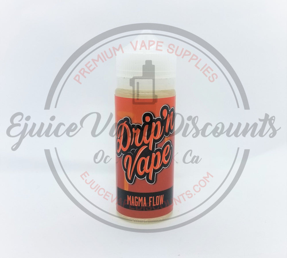 Drip'n Vape Magma Flow 120ml - Ejuice Vape Discounts