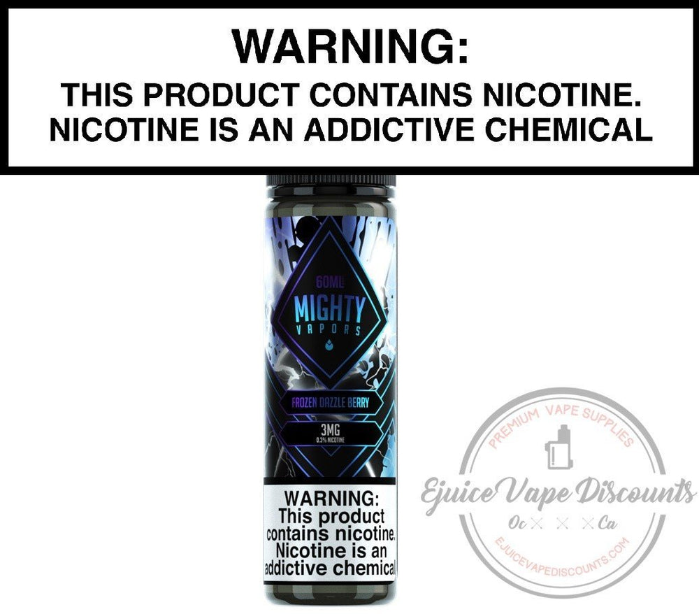 Frozen Dazzle Berry by Mighty Vapors 60ml