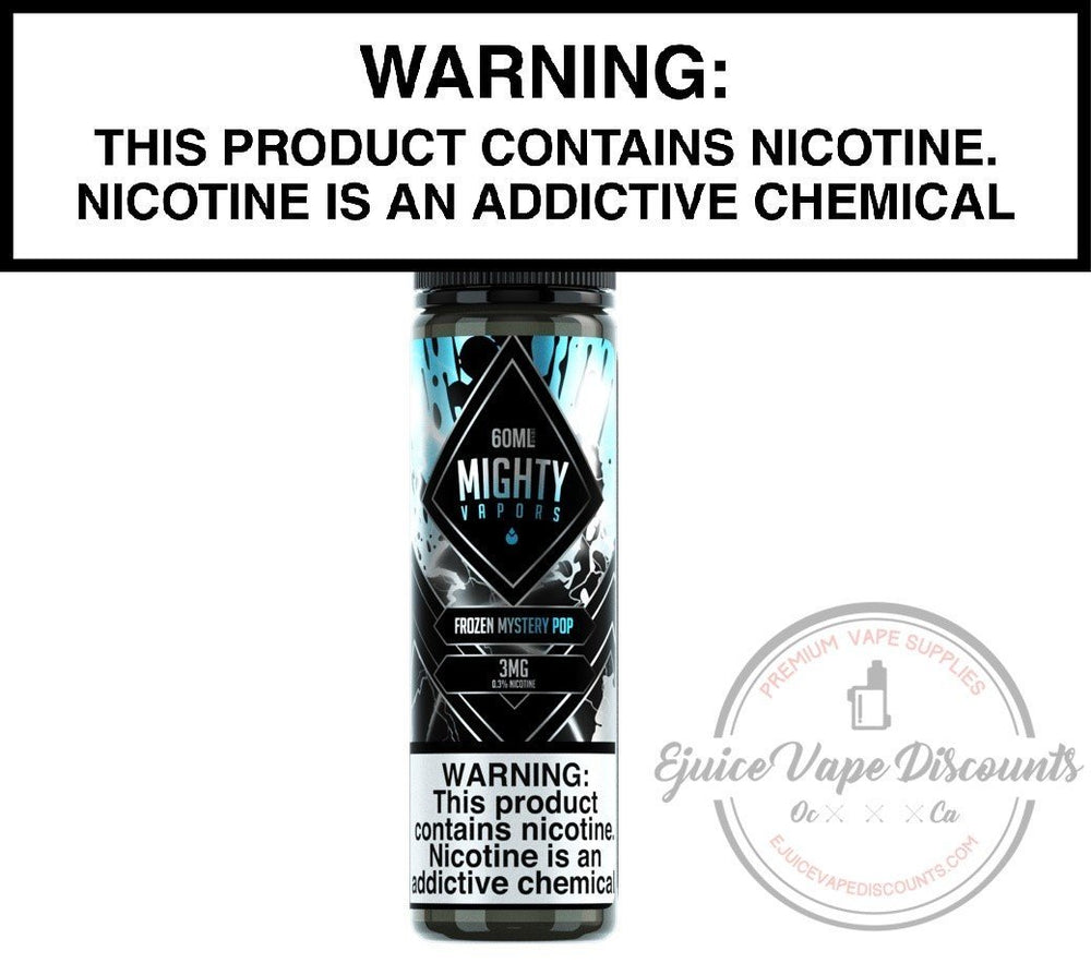 Mighty Vapors Ejuice 0 Frozen Mystery Pop by Mighty Vapors 60ml