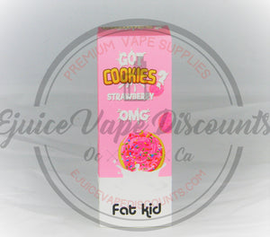 Got Cookies Starwberry 60ml - Ejuice Vape Discounts